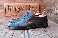 Мужские туфли броги Silenf, 26.5 см, 41.5 размер. Код: 026.