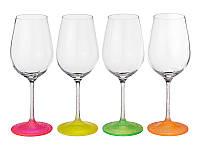 Набор бокалов Bohemia Neon Frozen для вина 4 шт. (350 мл)