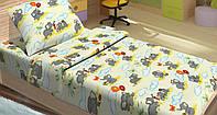 Качественное детское постельное бельё 100х150см FILI БЕЖЕВЫЙ LT14