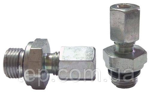 """Фітинг (штуцер, муфта) Н 1/8"""" - мідна трубка 4 мм (RVS 4 - G 1/8"""" )"""