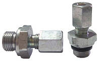 """Фітинг (штуцер, муфта) Н 1/8"""" - мідна трубка 4 мм (RVS 4 - G 1/8"""" ), фото 1"""