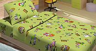 Качественное детское постельное бельё 100х150см JIMI САЛАТОВЫЙ LT14