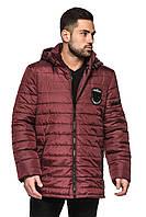 Мужская стеганная куртка, демисезонные куртки мужские