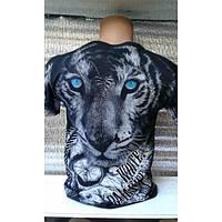 Мужская модная футболка с двухсторонним принтом , Турция