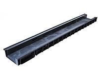 Лоток водоотводящий пластиковый с вертикальным водоотводом  ЛВ ПП