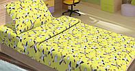 Качественное детское постельное бельё 100х150см PETI ЖЕЛТЫЙ LT14