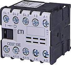 Контакторы миниатюрные CE, CAE, CE17
