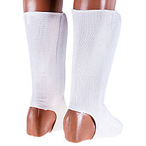 Защита ноги трикотаж белая Twins (c сеткой) , фото 2