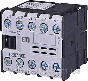 Контактор мініатюрний CE07.10-24V-50/60Hz