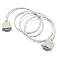 Шнур компьютерный Null modem гн.DB9pin- гн.DB9pin, диам.-5мм, 2м