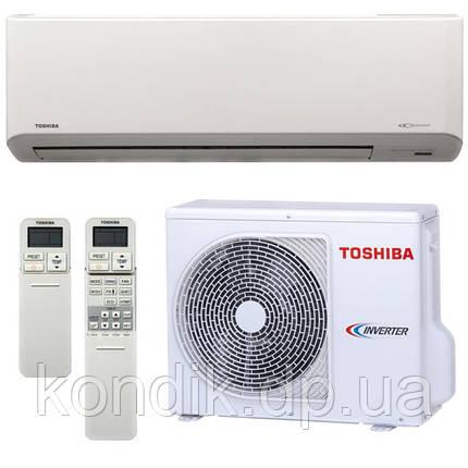 Кондиционер Toshiba RAS-10N3KV-E/RAS-10N3AV-E  інвертор, фото 2