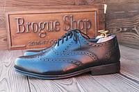 Мужские туфли броги Clifford James, 28 см, 43 размер. Код: 066.