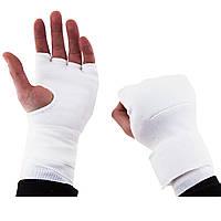 Накладки для единобрств трикотаж белые MA-24163