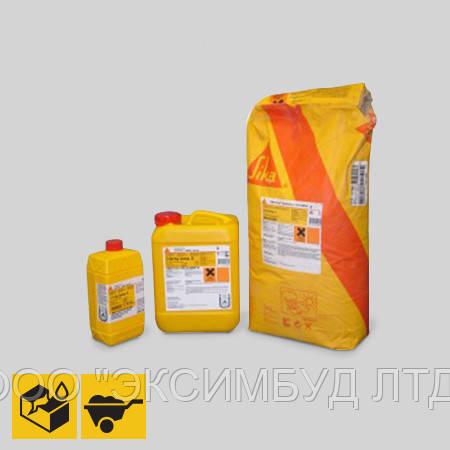 SikaTop-Armatеc 110 EpoCem (A+B+C) Комплект  для антикоррозионной защиты открытой арматуры при ремонте.