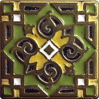 Декоративная плитка. Бронза покрытая эмалью. Orient (5x5).
