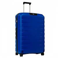 Пластиковый чемодан большой Roncato Box на 4 колесах