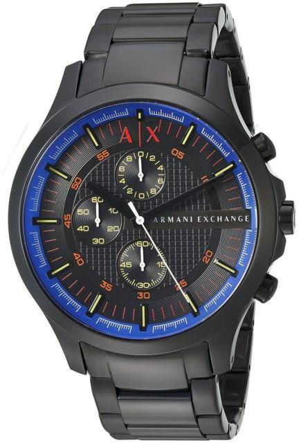 Часы мужские Armani Exchange Hampton Chronograph AX2191