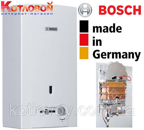 Газовый проточный водонагреватель (газовая колонка) Bosch Therm 4000, фото 2