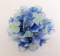 Головка гортензия сине-голубая  , фото 1