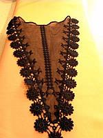 Кружево на платье