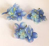 Веточка-насадка гортензия сине-голубая  3 шт., фото 1
