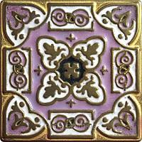 Декоративная плитка. Бронза покрытая эмалью. Persia (7,5x7,5)