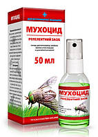 Спрей Мухоцид 50 мл (от мух, комаров, мошек, сырцов, слепней) O.L.KAR. (Олкар)