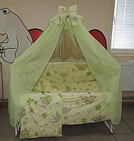 Набор для детской кроватки с балдахином