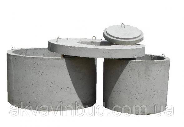 Кільця каналізаційні бетонні армовані