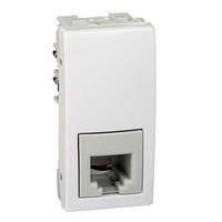 Розетка SCHNEIDER Unica MGU3.490.18 телефонная RJ11, 4 конт., 1 мод., белый