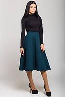 Женская    зеленая теплая  юбка Джесси   Leo Pride 42-46 размеры