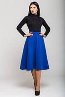 Женская теплая  юбка Джесси электрик   Leo Pride 42-46 размеры