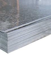 Лист оцинкованный, толщиной от 0,3мм до 2мм