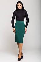 Зеленая женская юбка Карандаш   Leo Pride 42-46 размеры