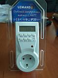 Електронний таймер-розетка Lemanso LM677, фото 2