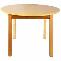 Стол деревянный c круглой столешницей (арт.1400006)