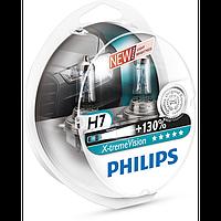 Автомобильная галогенная лампа Philips X-trime Vision H7 12V 55 W (производство Philips, Польша)