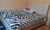 Кровать в спальню с мягким изголовьем и боковиной, фото 1