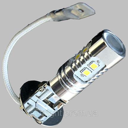 Автомобильная светодиодная лампа в ПТФ с цоколем H3 Samsung 10W-Белый в противотуманные фонари, фото 2