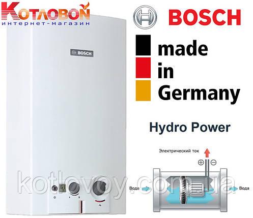 Газовый проточный водонагреватель (газовая колонка) Bosch Therm 6000 O WRD G, фото 2