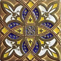 Декоративная плитка. Латунь покрытая эмалью. Zodiac (7,5x7,5)