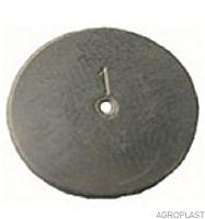 Шайба дозирующая КАС 0,8; 1,0; 1,2; 1,5; 1,8; 2,0 мм Агропласт - Дом-Агро в Полтаве