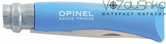 Нож Opinel VRI №7 лазурный (001424)