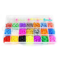 Резинки для плетения браслетов Deluxe Loom Bands Kit