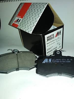 Колодки тормозные передние ВАЗ 2108-099,2110-2112, 2113-2115, 2170 (Приора), 1117-1119(Калина)  ABS