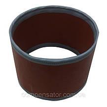 Тканевый компенсатор тип КТ 1,01 ленточный без волны, фото 3