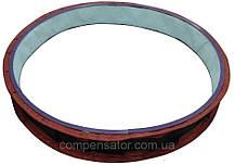 Тканевый компенсатор тип КТ 2,01 фланцевый без волны, фото 2