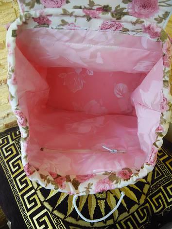 """Рюкзак женский """"Розовый клевер"""", фото 2"""