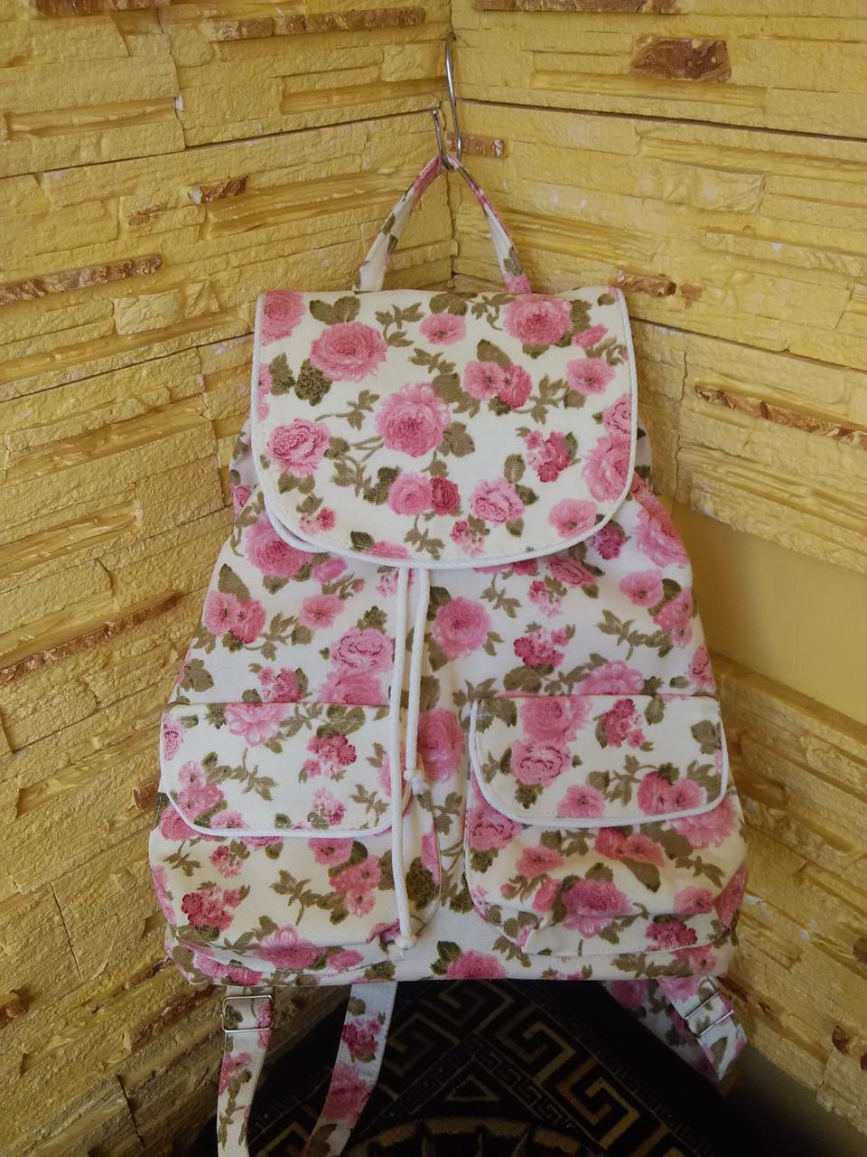 """Рюкзак женский """"Розовый клевер"""""""
