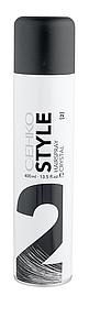 "Лак для волос ""Кристал"" c экстрактом личи C:EHKO Style Hairspray Crystal (2) 400 мл."
